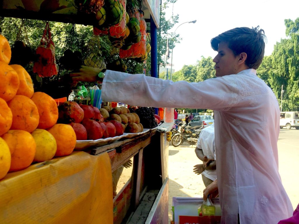buying fruit