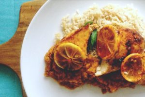 Grilled Tandoori Lemon Chicken Recipe