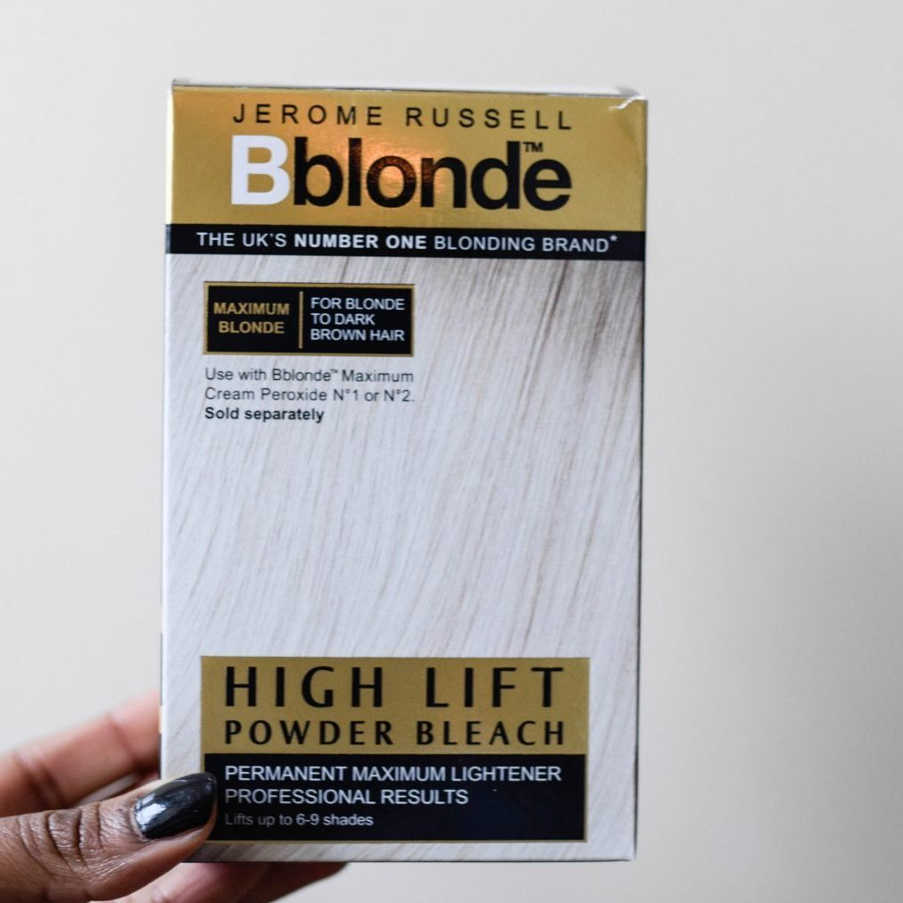DIY Black to Blonde Ombre Hair