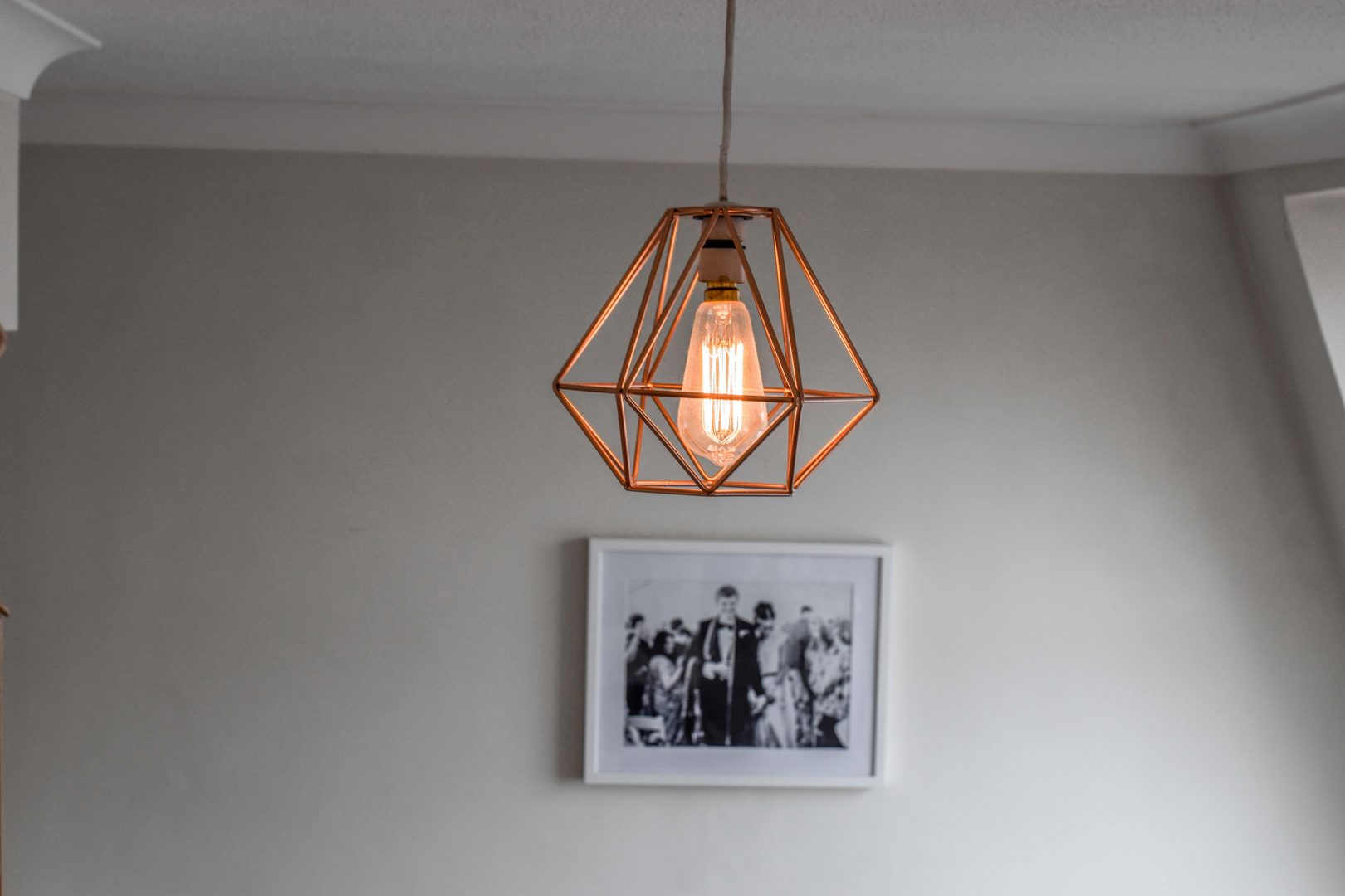 Must have monday geometric chandelier edison light bulbs geometric chandelier aloadofball Image collections