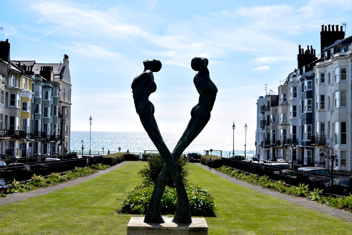 Two Masters in Brighton, England