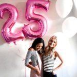 thehonestshruth birthday pink balloons