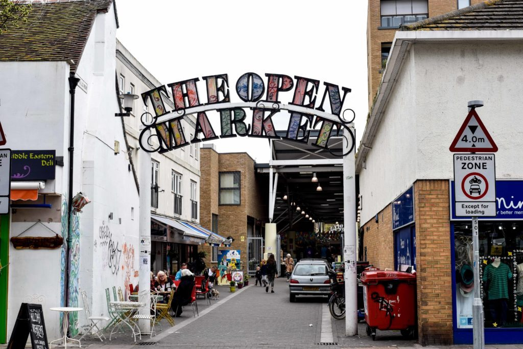Brighton England Open Market