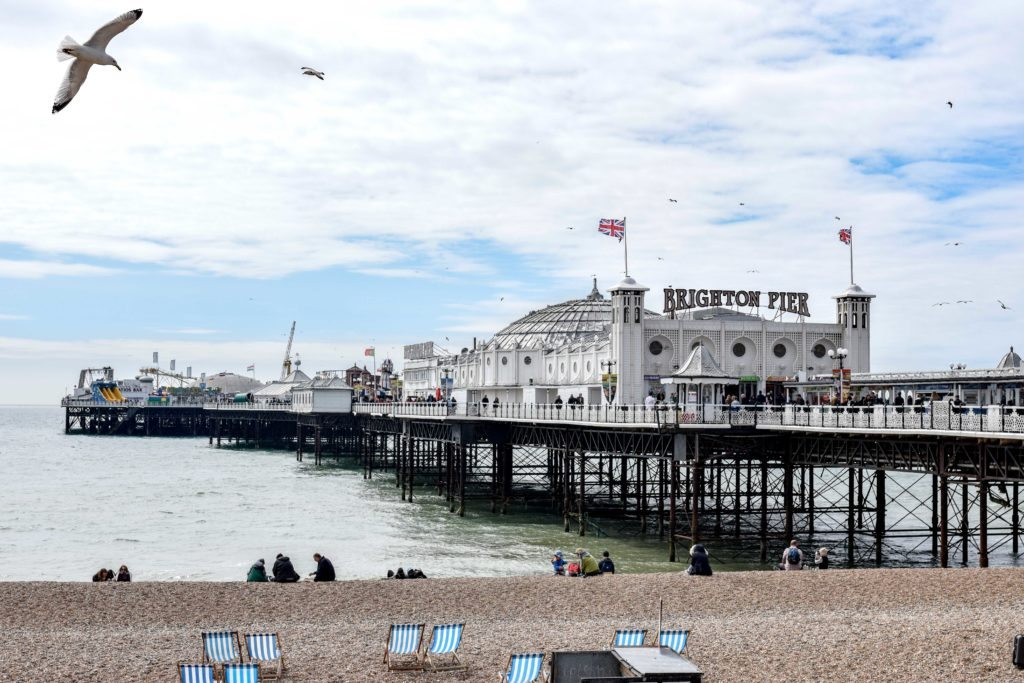 Brighton England Pier
