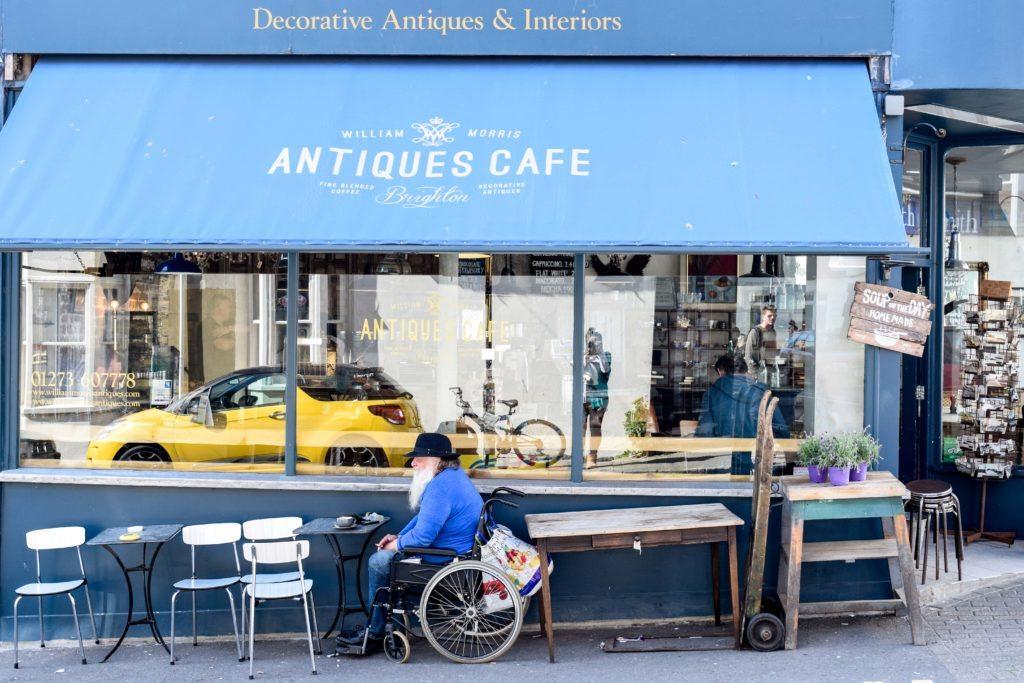 Antiques Cafe Brighton England