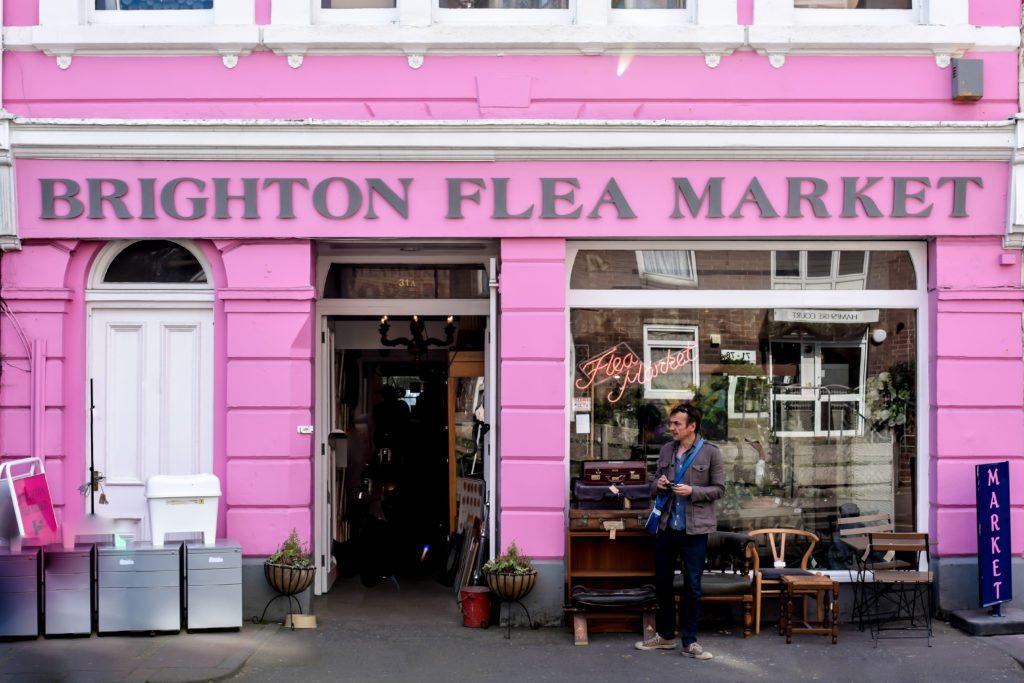 Brighton England Flea Markeet