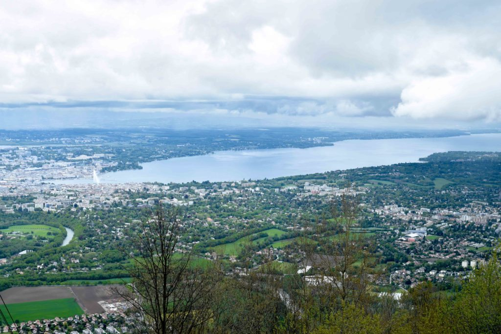 The Mont-Saleve Cable Car
