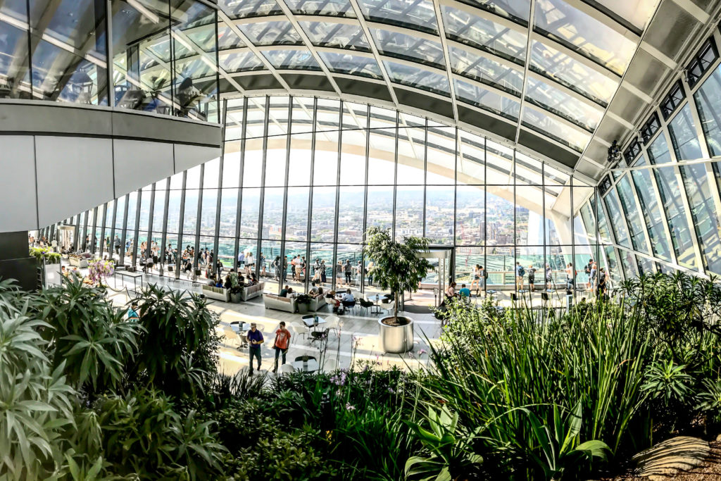 Enjoy Incredible Drinks And Brunch At Sky Garden London