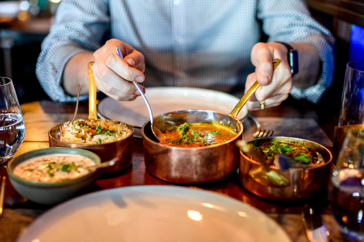 Indian Food in London at Tamarind Kitchen
