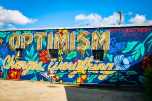 New #FrostItForward Austin Mural by CultureMap Austin and Frost Bank Promotes Optimism