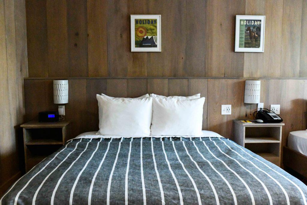 Rustic Modern hotel interiors
