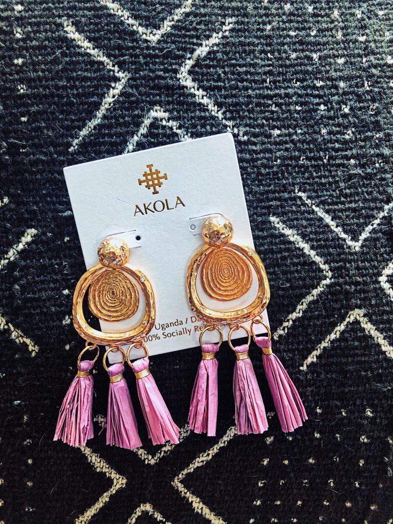 Statement Earrings for Summer Akola || Brianna Earring || $78