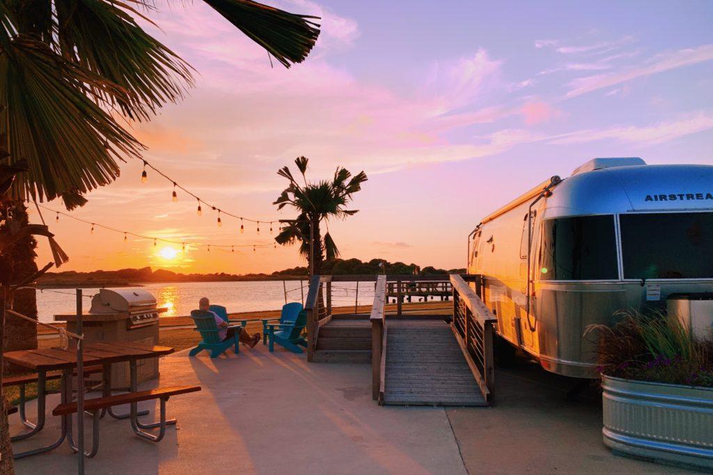 Enjoy an Airstream Getaway at Matagorda Bay Nature Park, Texas