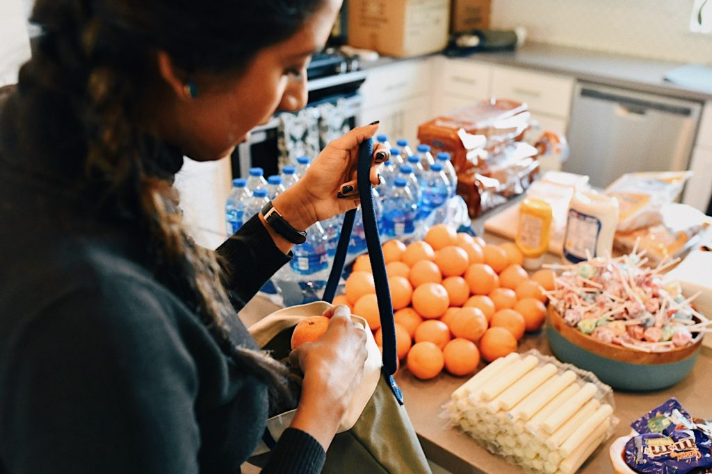 Making Meals For Austin's Homeless #FrostItForward