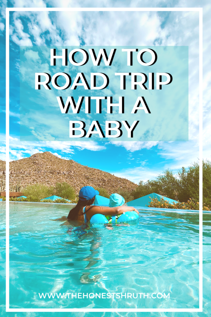 Road Trip with a baby packing list