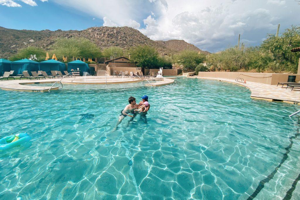 Ritz Carlton Dove Mountain Pool Babymoon
