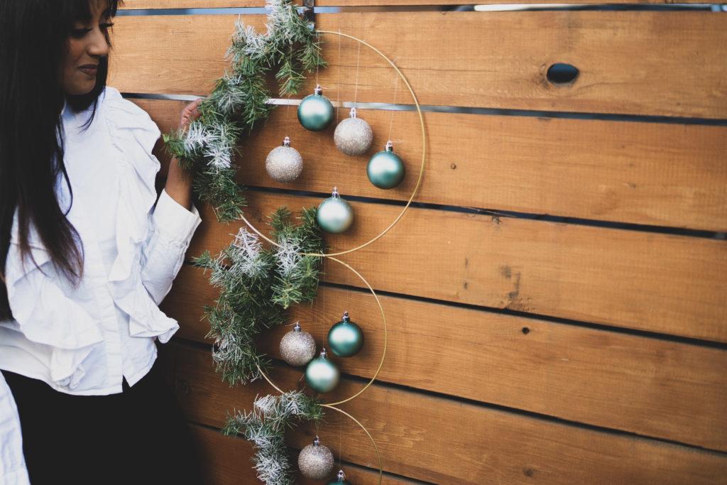 Holiday Wreath DIY