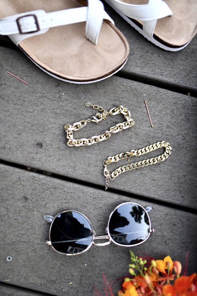 cute gold chain bracelets